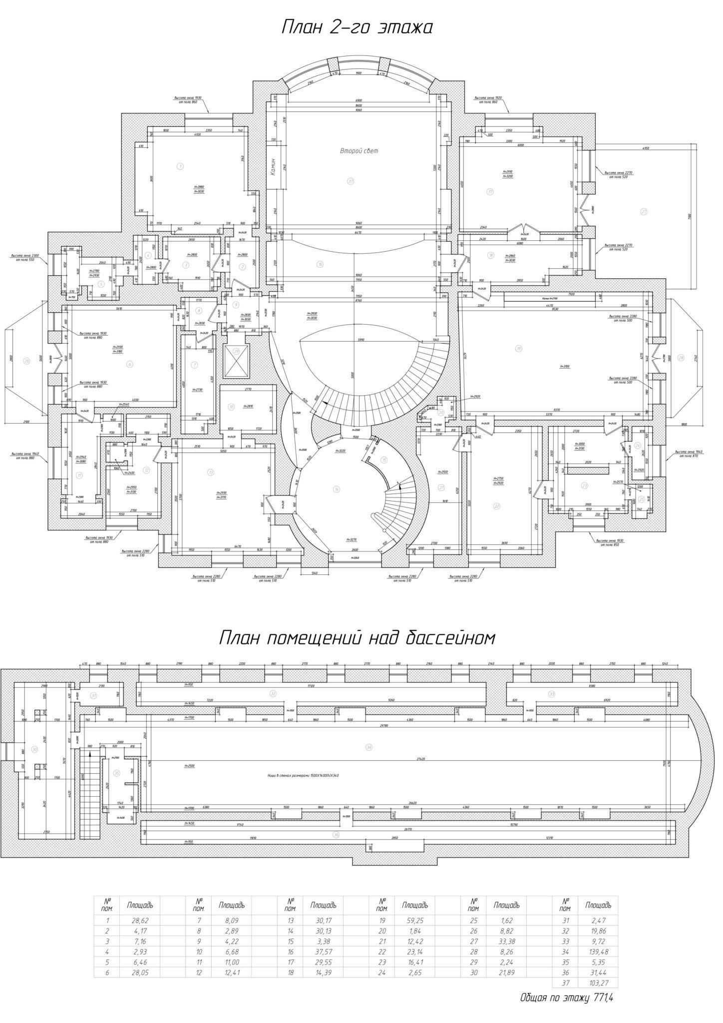 Барвиха 2 этаж